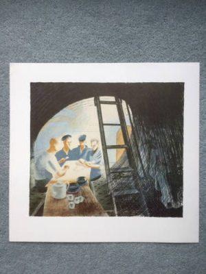 Ravilious-Submarine-Ward-Room-2