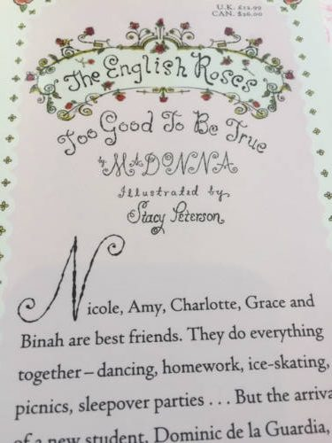 The English Roses, by Madonna
