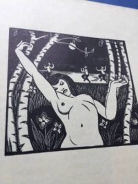 A Mirror for Witches. A first edition illustrated with wood engravings by Robert Gibbings