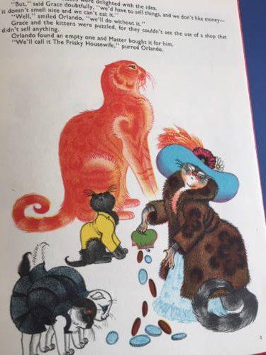 Orlando, The Marmalade Cat, The Frisky Housewife