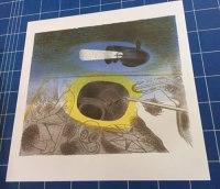 Eric Ravilious, Submarine Dream, Camberwell Lithograph