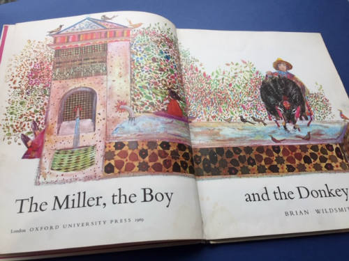 Brian Wildsmith, The Miller the Boy and the Donkey