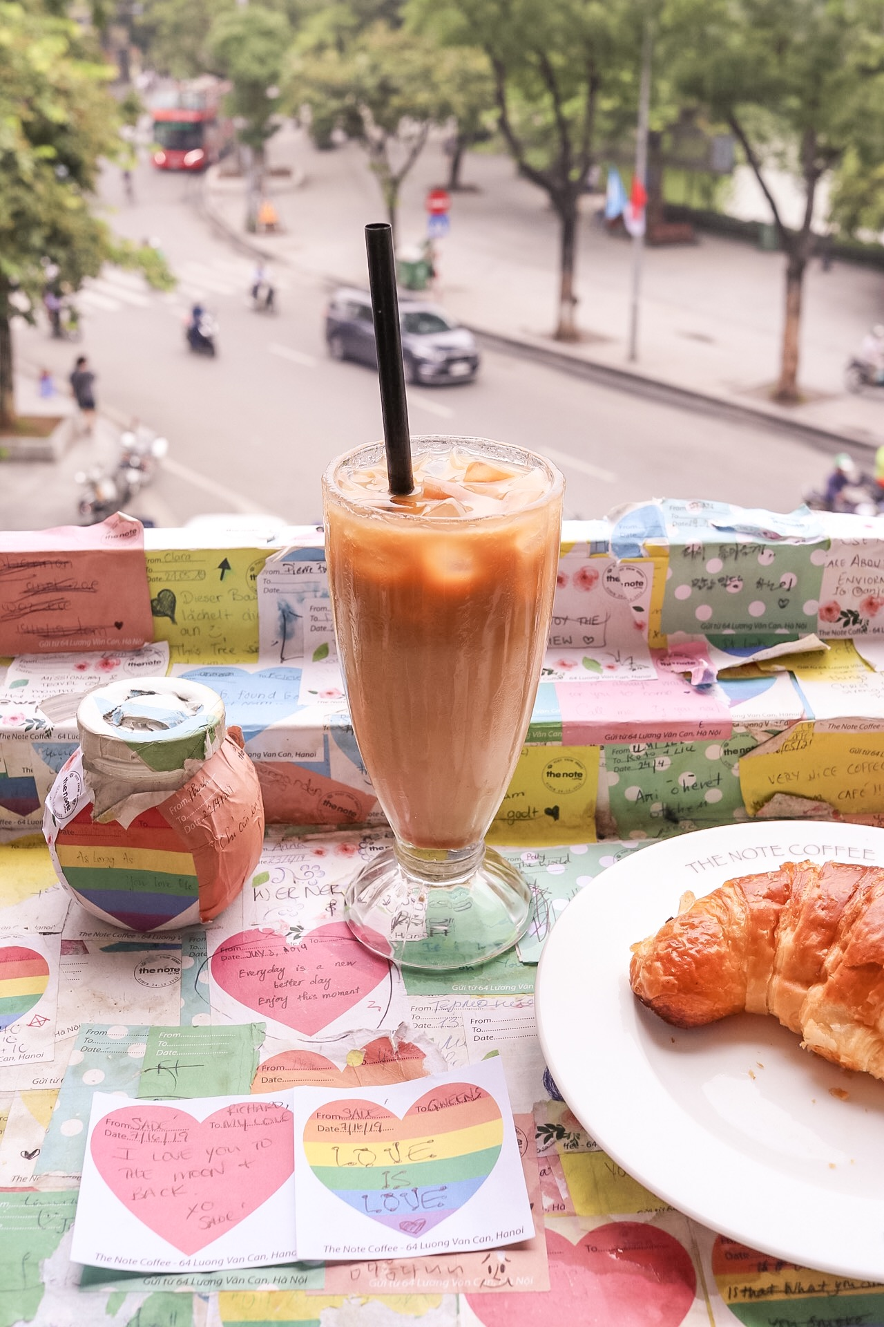 Illustrated by Sade - Food and Drinks Note Coffee Cafe | Hanoi, Vietnam