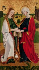Visitation of Mary and Elizabeth, c. 1460. Kremsmünster Abbey, Kremsmünster, Austria.