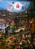 The Last Judgment, center panel, by Hieronymus Bosch, c. 1482. Academy of Fine Arts, Vienna, Austria.