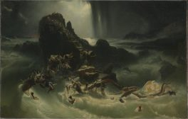 The Deluge ?c.1840 Francis Danby 1793-1861 Purchased 1953 http://www.tate.org.uk/art/work/N06134