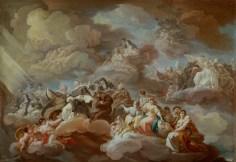 The Paradise, by Corrado Giaquinto, c. 1754-57. Museo del Prado, Madrid, Spain.