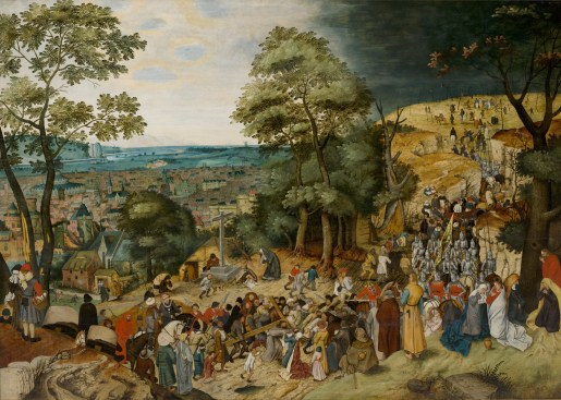 The Procession to Calvary, by Pieter Brueghel the Younger, c. 1602. Nostell Priory, West Yorkshire, United Kingdom.