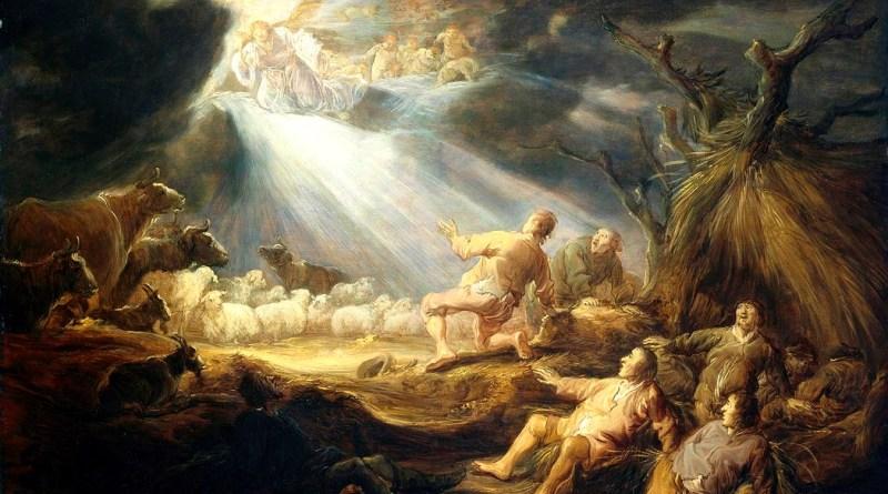 Benjamin-Gerritsz. Cuyp, Annunciation to the Shepherds, by Benjamin-Gerritsz. Cuyp, after 1633. Museum of Fine Arts, Houston, Texas, United States. Via IllustratedPrayer.com