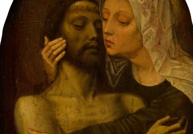 The Lamentation of Christ, after Gerard David, c. 1540-45. Mauritshuis, The Hague, Netherlands. Via IllustratedPrayer.com