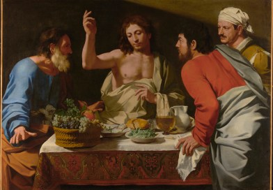 The Supper at Emmaus, by Bartolomeo Cavarozzi