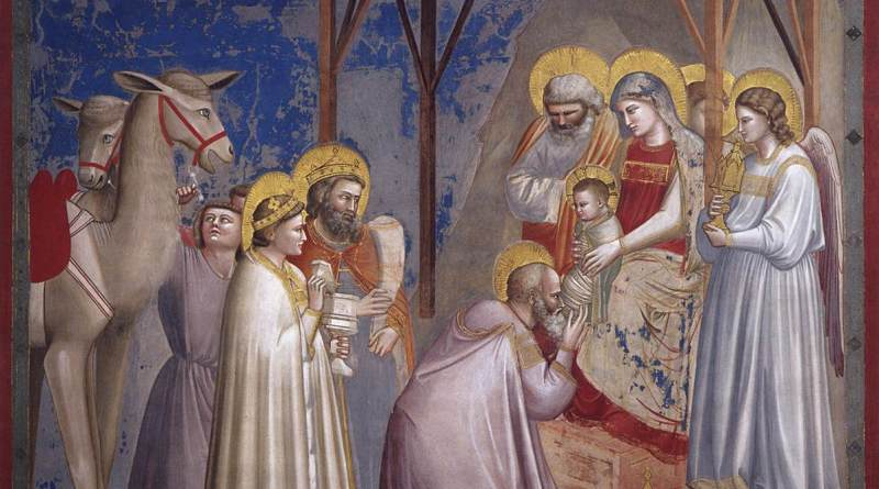 Adoration of the Magi, by Giotto