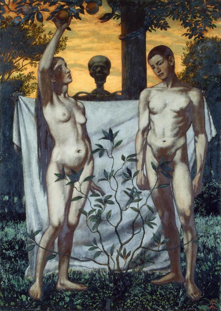 Adam and Eve, by Hans Thoma