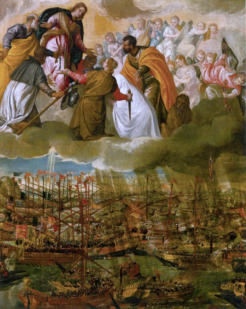 Allegory of the Battle of Lepanto, by Paolo Veronese