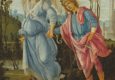 Tobias and the Angel, by Filippino Lippi