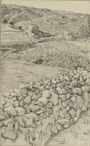 Vineyards with Their Watch Towers, by James Tissot, c. 1886-89. Brooklyn Museum, New York, New York, United States.