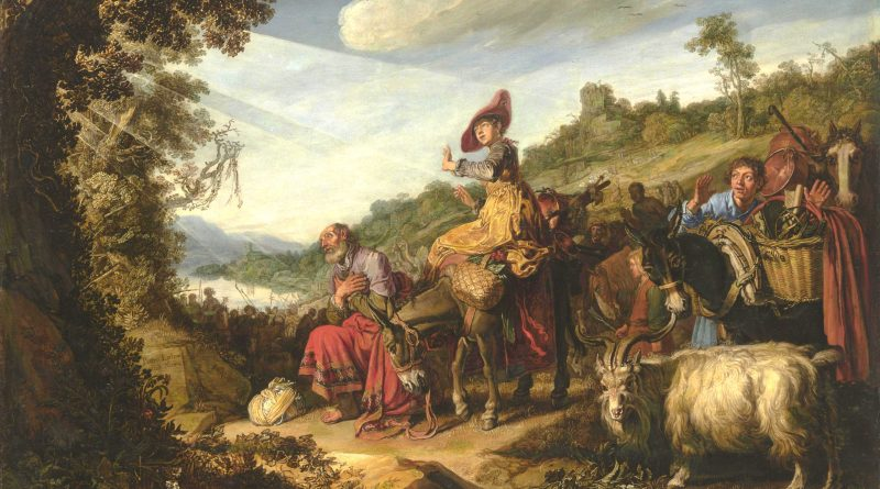 Abraham on the Road to Canaan, by Pieter Lastman, c. 1614. State Hermitage Museum, St. Petersburg, Russia.