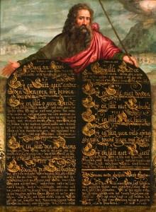 Moses and the Ten Commandments, c. 1600-1624. Museum Catharijneconvent, Utrecht, Netherlands.