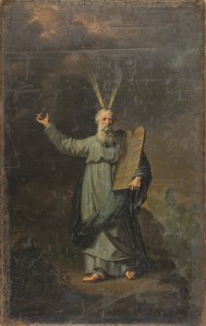 Moses with the Tables of the Law, by Pieter Gaal, c. 1803. Rijksmuseum, Amsterdam, Netherlands.