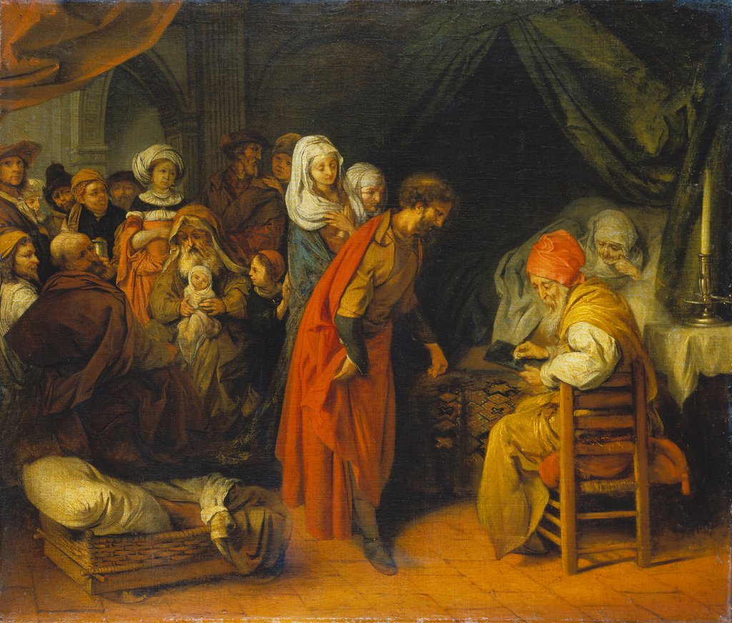 The Birth And Naming Of St John The Baptist Illustrated