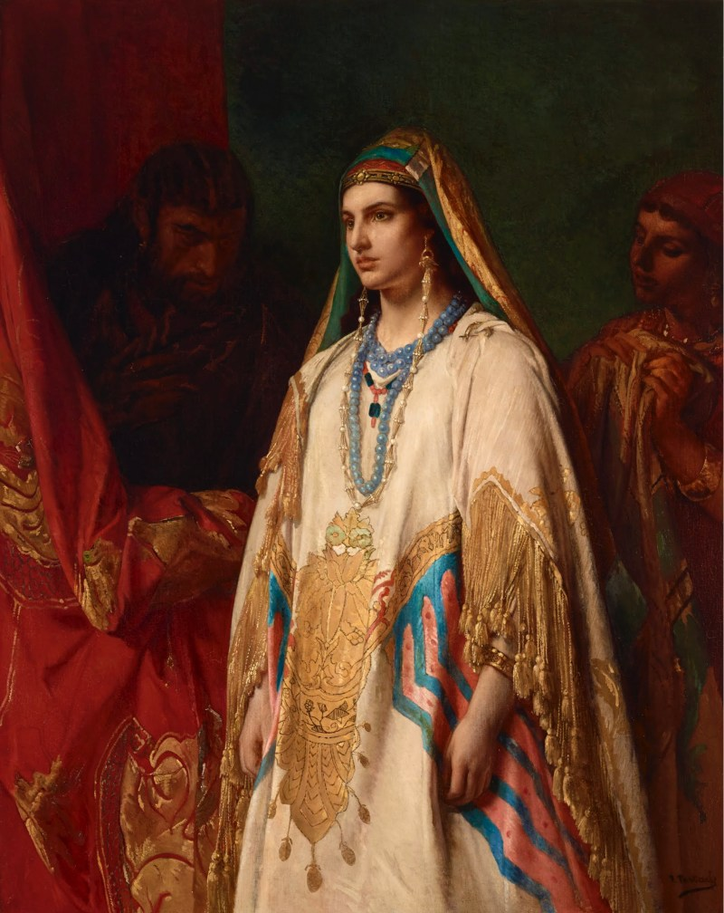 Esther Esther, by Jean-François Portaels, c. 1869. Art Gallery of South New Wales, Sydney, Australia.
