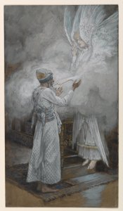 The Vision of Zacharias, by James Tissot, c. 1886-94. Brooklyn Museum, New York, New York, United States.