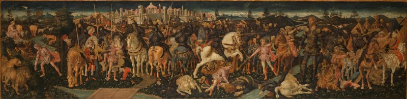 Story of David and Goliath, by Francesco Pesellino, c. 15th century. National Gallery of Art, London, United Kingdom.
