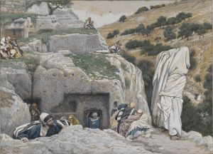 The Hiding Place of the Apostles, by James Tissot, c. 1886-94. Brooklyn Museum, New York, New York, United States.