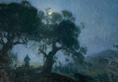 The Good Shepherd, by Henry Ossawa Tanner, c. 1902-03. Zimmerli Art Museum at Rutgers University, New Brunswick, New Jersey, United States of America.
