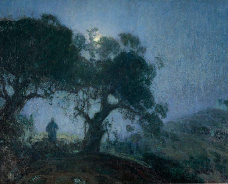 The Good Shepherd, by Henry Ossawa Tanner, c. 1902-03. Zimmerli Art Museum at Rutgers University, New Brunswick, New Jersey, United States of America.