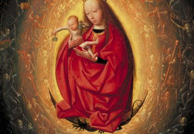 The Glorification of the Virgin, by Geertgen tot Sint Jans, c. 1490-95. Museum Boijmans Van Beuningen, Rotterdam, Netherlands.