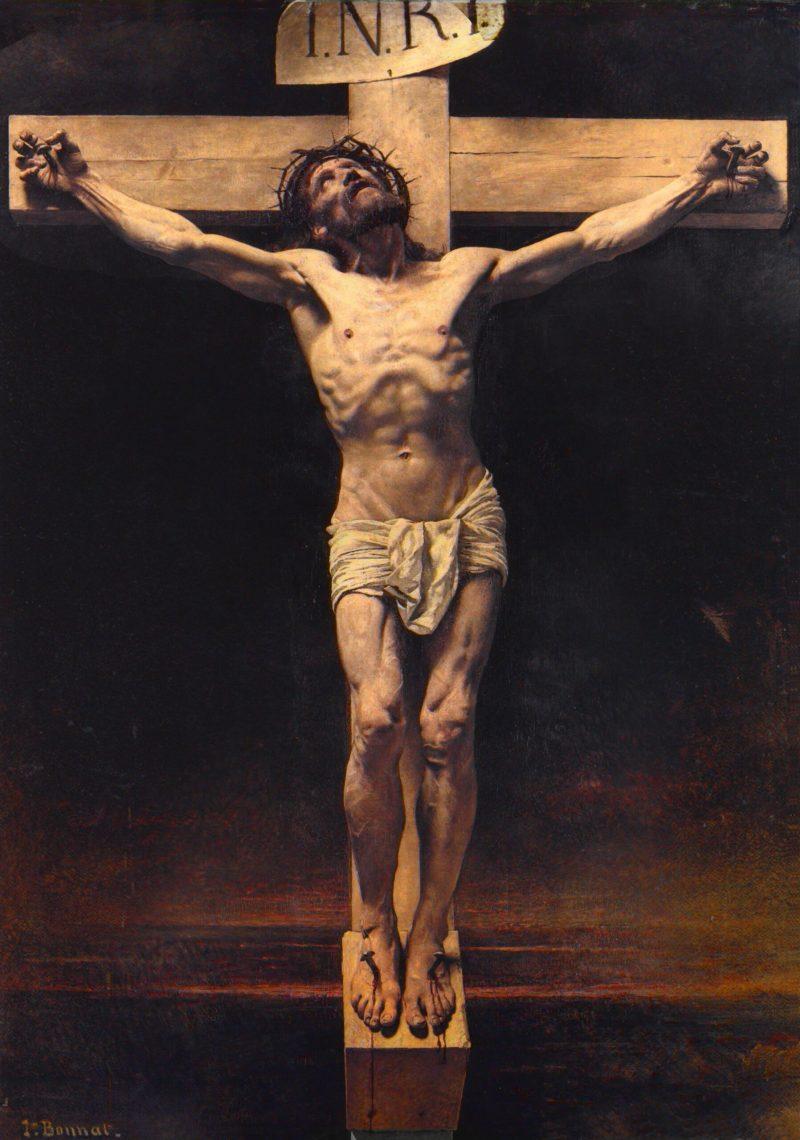 The Crucifixion, by Léon Bonnat, c. 1874. Petit Palais, Paris, France.