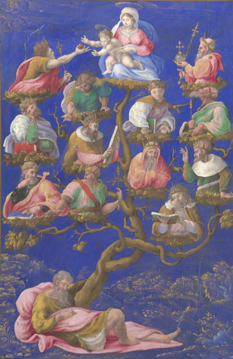 A Jesse Tree, by Girolamo Genga, c. 1535. National Gallery, London, United Kingdom.