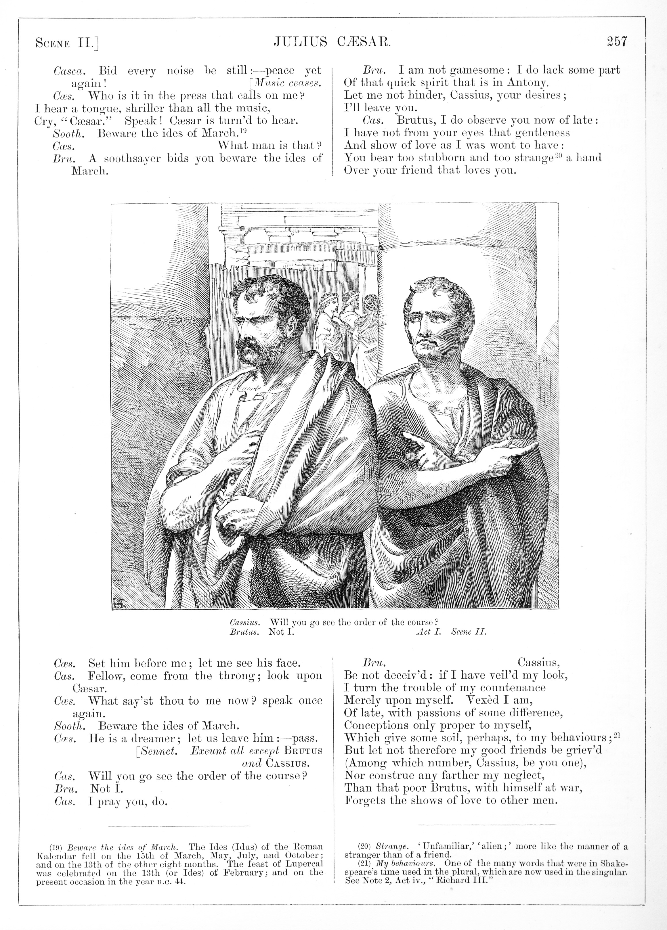 H C Selous Julius Caesar Illustration 3