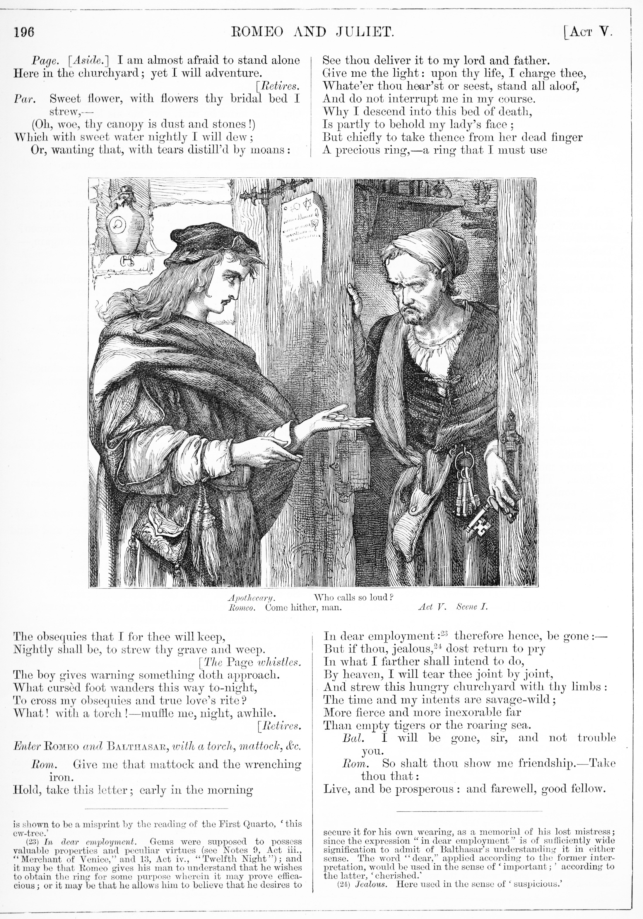 H. C. Selous, Romeo and Juliet, Illustration #16