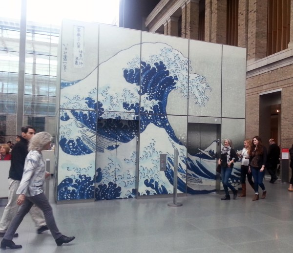 Hokusai Exhibit Museum Of Fine Arts Boston Illustrate Point
