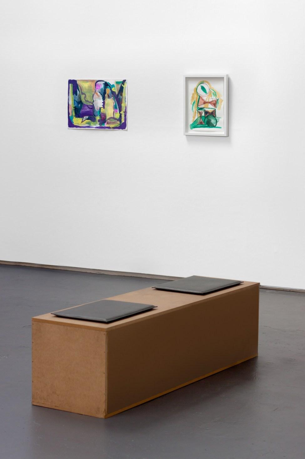 Rauchzeigen gallery view, 2016