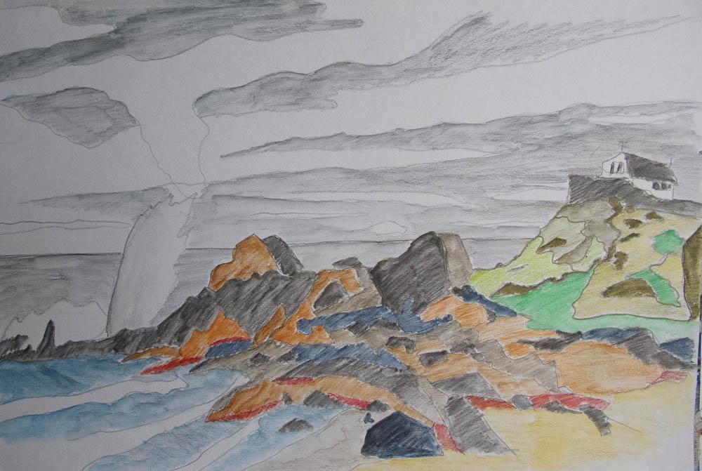 Pendinas the 'Island' St Ives