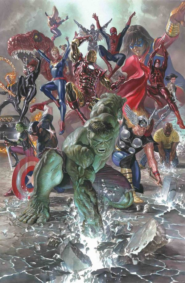 Legacy 1 Variant Cover by Alex Ross Marvel