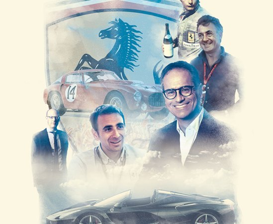 Car magazine - Ferrari at 70