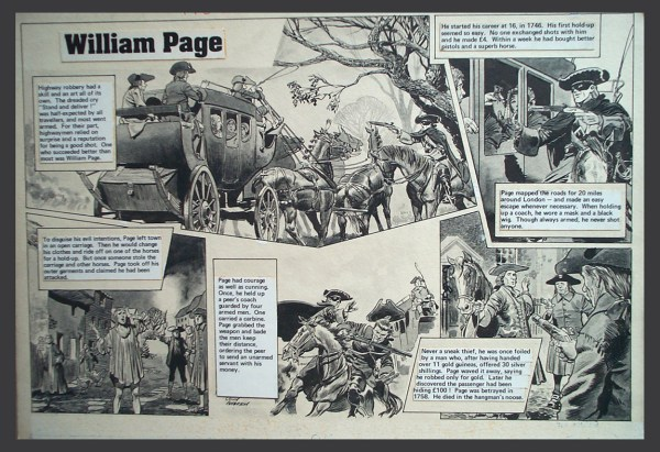 William Page Original Signed Colin Andrew