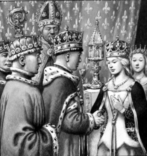 Marriage Of Henry & Katherine France Original