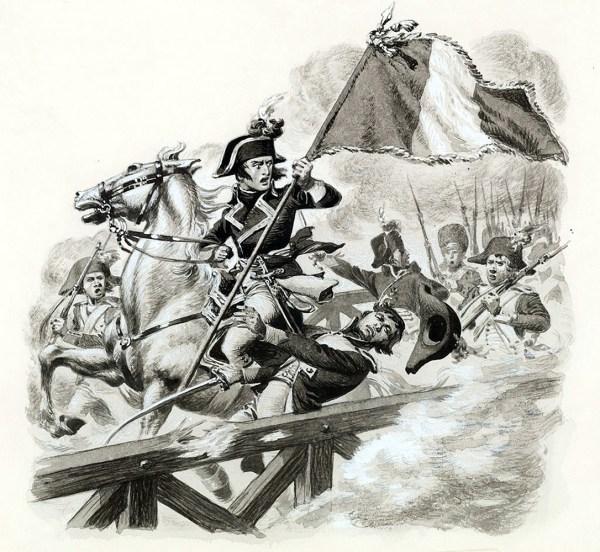 Napoleon Bonaparte at Lodi