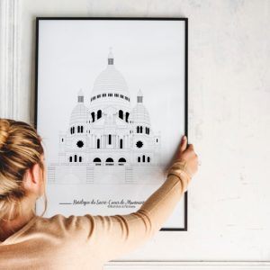 Basilique du Sacré Coeur de Montmartre - Illustration de patrimoine