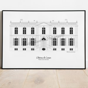 chateau-de-canon_normandie_illustrationdepatrimoine