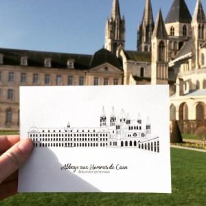 Abbaye_aux_hommes_caen_illustration_de_patrimoine_normandie_hotel_de_ville