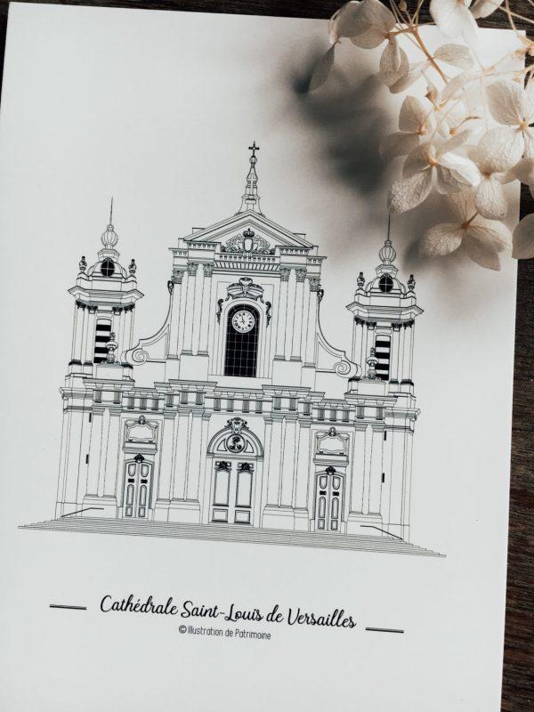 illustration-de-patrimoine-monument-historique-ville-de-versailles-patrimoine-versaillais-Cathedrale-Saint-Louis-de-Versailles