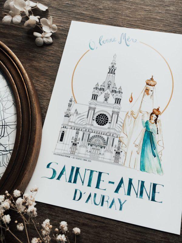 Illustration-de-Patrimoine-x-Atelier-de-lenfant-Jesus-Collaboration-_-Basilique-Sainte-Anne-dAuray