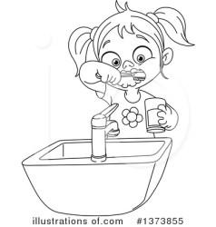 teeth clipart brushing brush illustration royalty yayayoyo rf