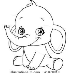 elephant clipart illustration royalty yayayoyo rf illustrationsof